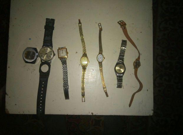 Часы наручные советские