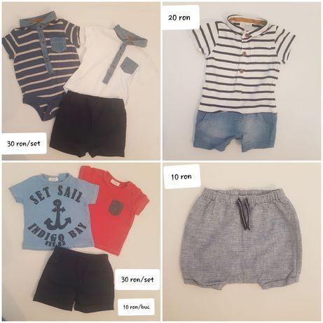 Set lot hainute/salopeta/pantaloni/body Next 62 1-3 luni