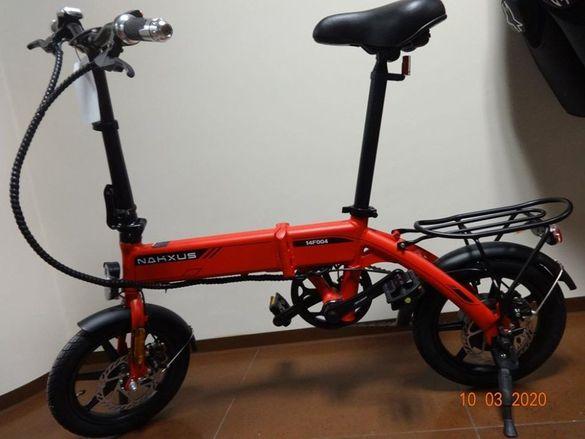 Колело електрическо e-bike 2020 city bike - компактно колело