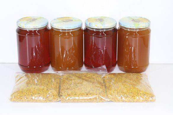 Пчелен мед от букет билки 2020