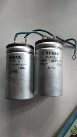 НОВИ Пускови кондензатори за електродвигател ТЕСЛА
