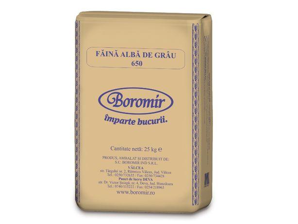 Faina Boromir TIP 650 sac 25 kg