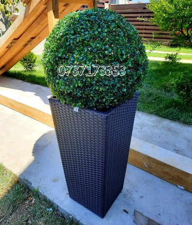 Sfera buxus artificial decorativ 20,25,30,40,50,60cm