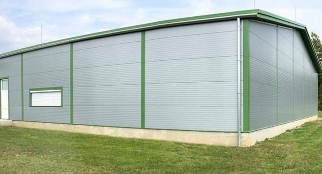 Vând hala metalica închisa cu panouri Sandwich de 40mm 12x25x4 metri.
