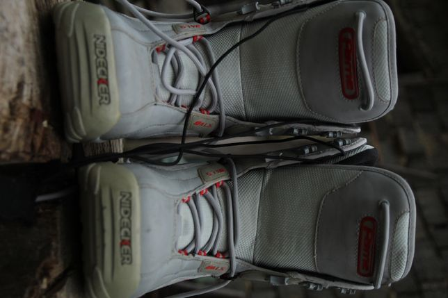 Snowboard boots.