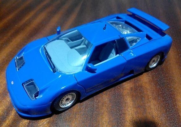 Bugatti EB110 SuperSport 1:24 by Bburago