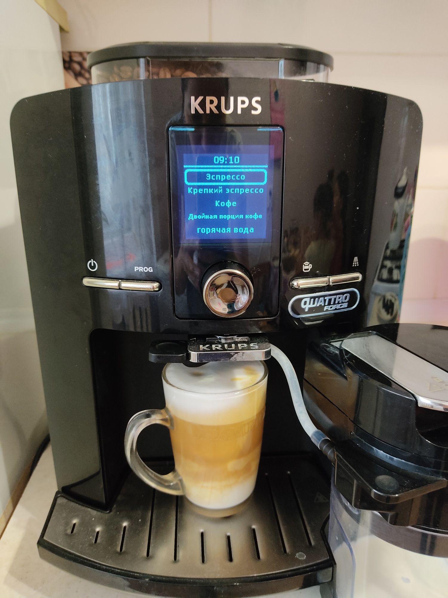 Продам кофемашину Krups EA8200