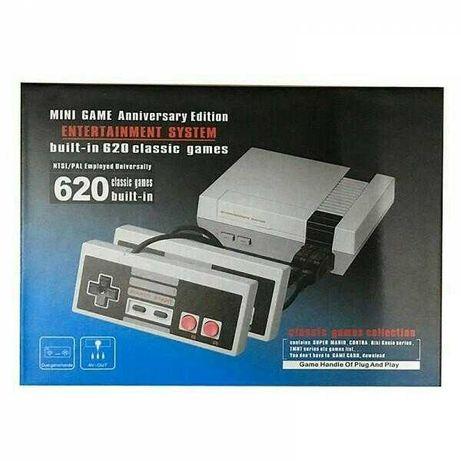 Nintendo 620 игр. Super Mario,Contra,Танки. Retro игровая приставка.