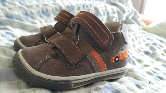 Pantofi bebe băiețel piele
