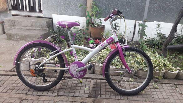 Детски велосипед за момиче BTWIN