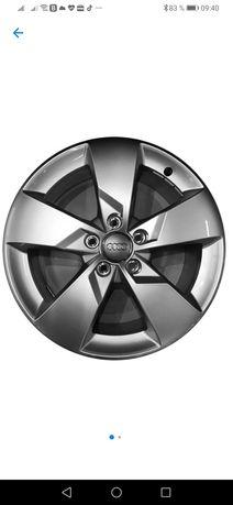 Jante audi 17 inch originale, 5 x 112, folosite doar o iarna, VW SKODA