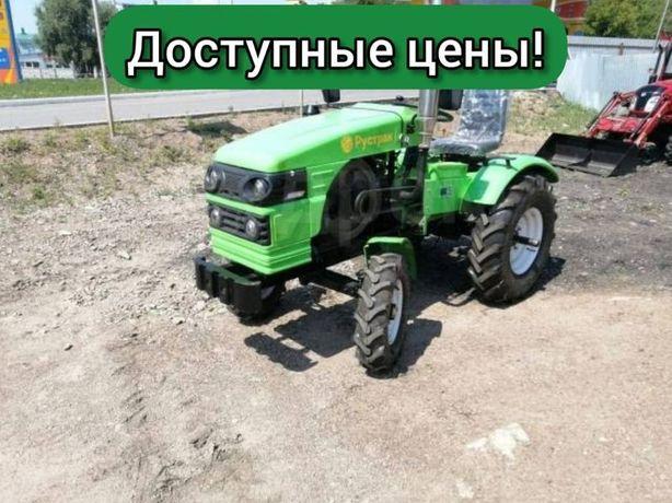 АКЦИЯ! Трактор Рустрак Р-18. Почвофреза и Плуг в подарок!