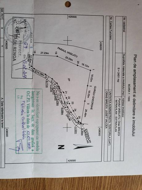 Vand teren 2450 mp2