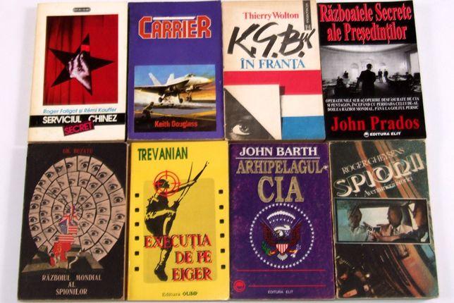 Romane si carti documentare de spionaj. DE CITIT CU SUFLETUL LA GURA