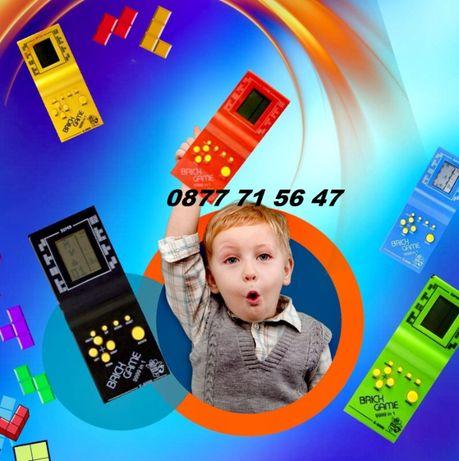 Тетрис конзола ретро игра brick game детска занимателна игра
