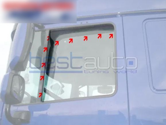 Ветробрани за камион MERCEDES ACTROS / ANTOS / AROCS MP4 (2012+)