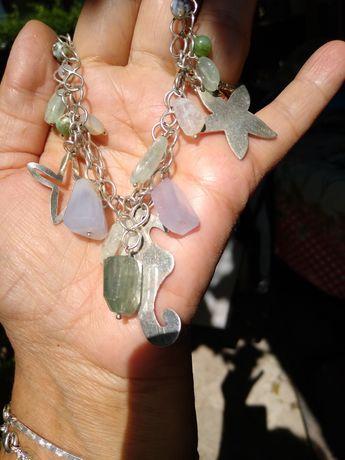 argint masiv 925 cu opale de mina