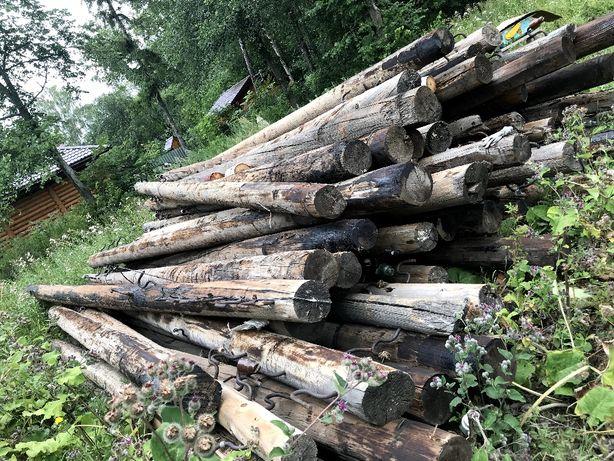 Опоры деревянные