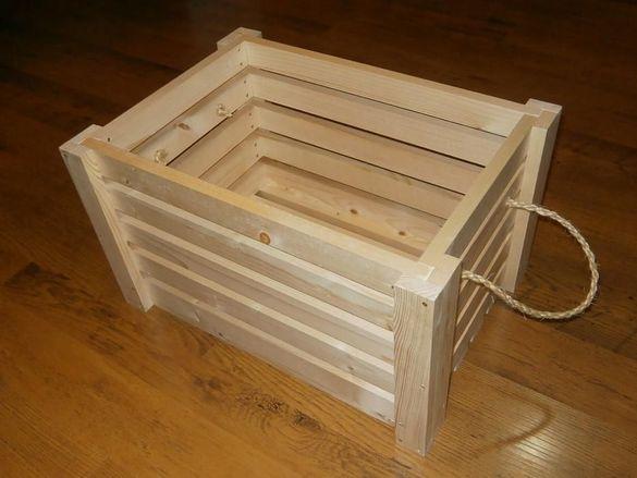 Дървени каси/щайги: R-SERIES /56-40-32/