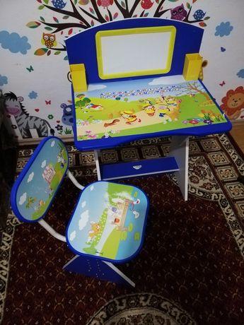 Masă și scaun copil