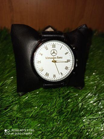 Часы Мужские Мерседес (Mercedes) подарок парню, другу, мужу. Набор