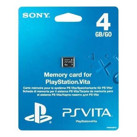 Карта памяти PlayStation Vita Memory Card 4GB