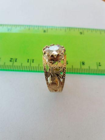 Inel diamant 1,03 crt., (G/P2), aur 18K (mvz 101)