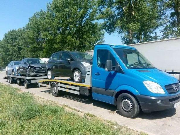 Transport auto pe platformă  Germania/Austria/Romania