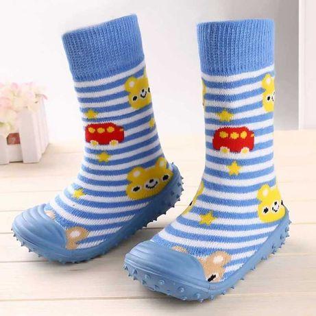 Летние носочки-пинетки
