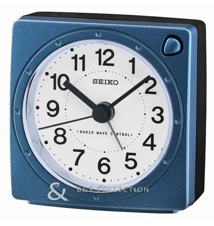 Ceas de birou si masă quartz Seiko QHR201L, radiocontrolat