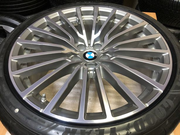 Jante ORIGINALE BMW G11,G12,pe 20 cu anvelope VARA
