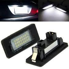 Kit 2 lampi led numar BMW