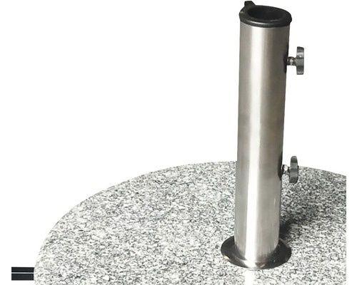 Suporți umbrela, 40 kg, Ø 50 cm, granit, 3 bucati