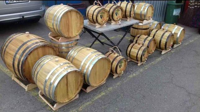 Butoaie  lemn făcute  traditional  butoi
