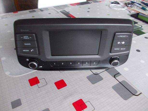 System radio cu bluetooth original Hyundai i30-2017