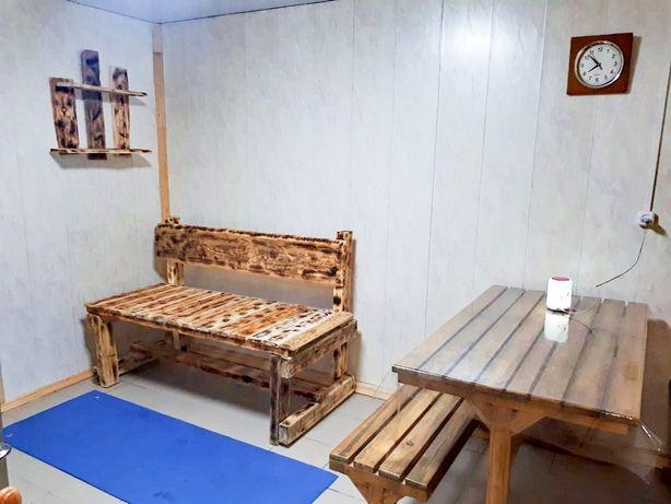 Новая баня на дровах КСК рассвет