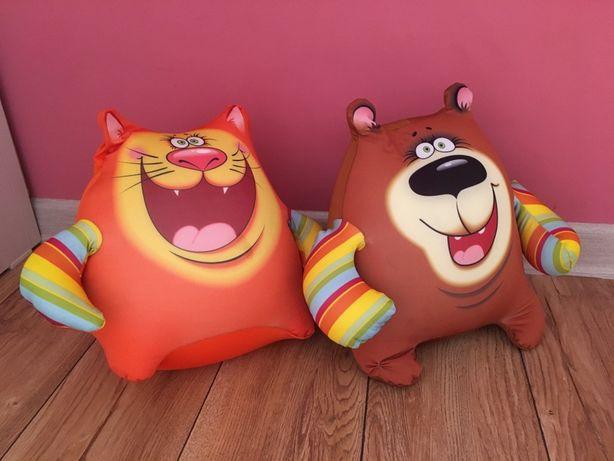 Две мягкие игрушки подушки антистресс большие