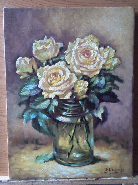 Vandut - Tablou pictura in ulei pe panza, tablouri, arta, picturi