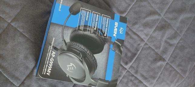 Наушники sven Ap-G999mv с микрофоном