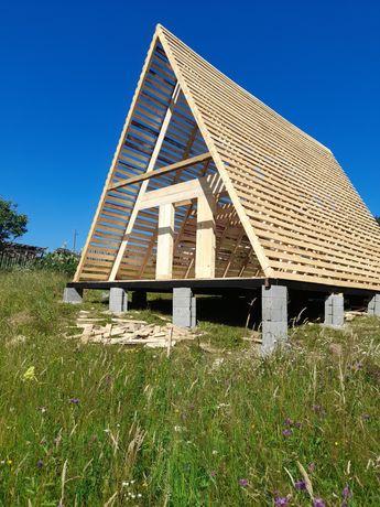 Vând căsuțe din lemn orice model și dimensiune