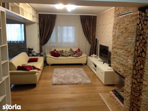Trocadero - Apartament cu 4 camere transformat in 3, mobilat si utilat