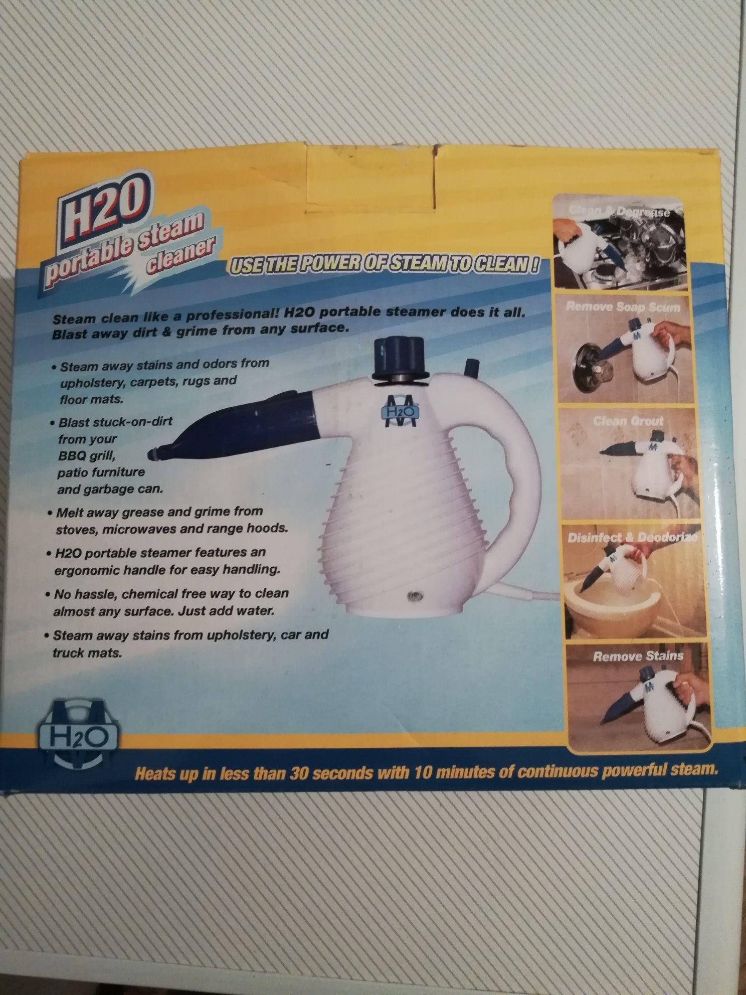 Дезинфекцираща пароструйка H2O