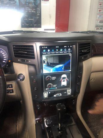 Автомагнитола тесла Lexus lx 570 android
