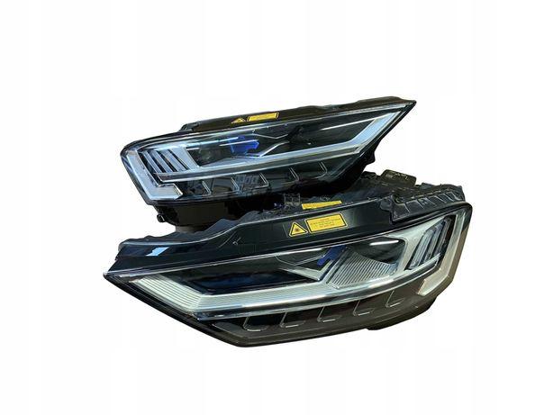 Audi A8 4N far laser full led matrix stanga dreapta faruri laser beam