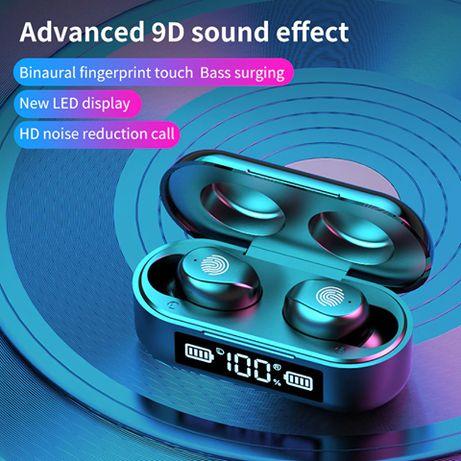 2020 Wireless Headphones TWS Bluetooth Earphones 5.1 with Mic
