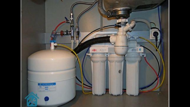 Замена и установка фильтров для очистки воды