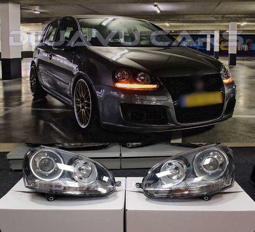 Faruri GTI VW Golf 5 Lupa Marca DEPO - CALITATE Superioara * IN STOC *