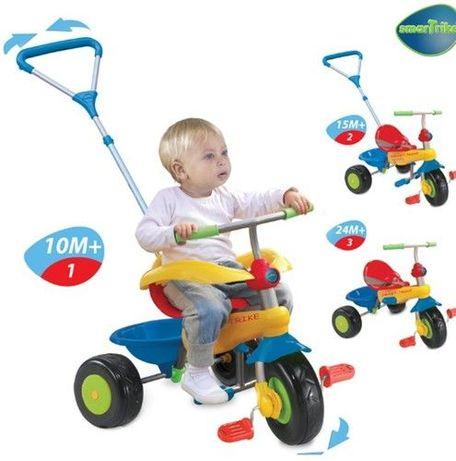 Детска триколка Smart trike 3 в 1