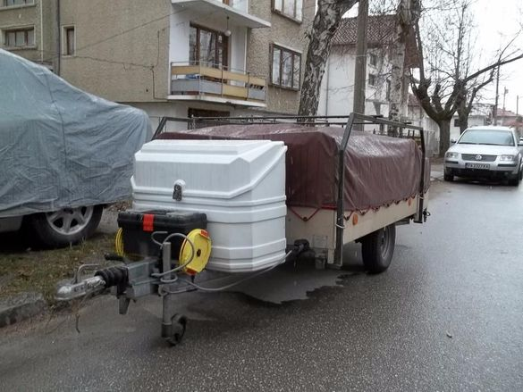 ремарке - палатка - КИНГУАИ