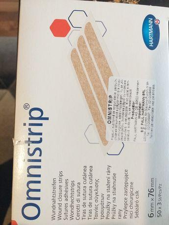 Plasturi Omnistrip hipoalergenici pentru suturi